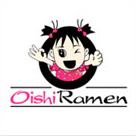 Oishi Ramen Food Logo Design