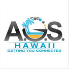 AOS Hawaai Communication Logo Design
