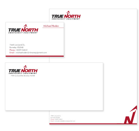 Equipment Stationery Design