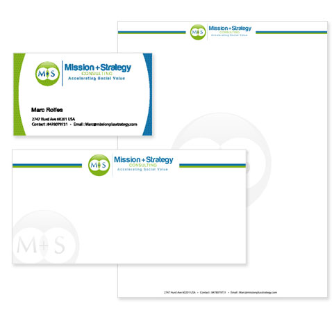 Social Institute Stationery Design