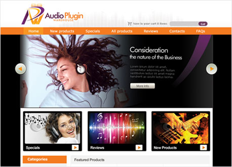 AudioPlugin Gadget Store Development