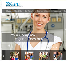 Westfield Healthcare Web Design