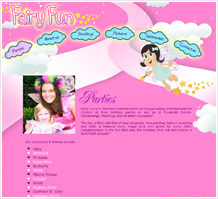 Fairy Fun Kids Web Design