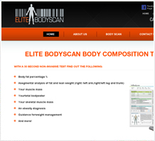 Elite Bodyscan Fitness Web Design