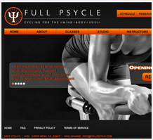 Full Psychle Fitness Web Design