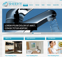 Sheehy Mechanical Engineering Website Design