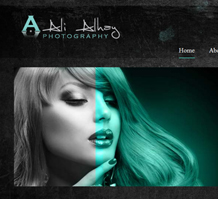 Ali Alhay Photography Web Design