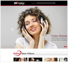 OnReplay Media Website Design